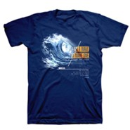Make Waves Shirt, Metro Blue, Small