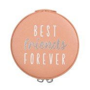 Best Friends Forever, Zippered Jewelry Case