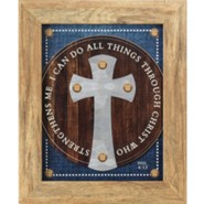 I Can Do All Things Through Christ Framed Wall Art