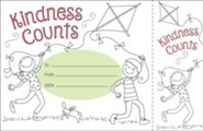 Color Me! Kindness Counts Recognition Awards & Bookmarks (Pack of 30)