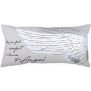 May You Find Comfort in the Arms of an Angel Pillow