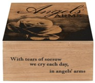 Angels' Arms Keepsake Memory Box