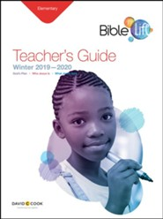 Bible-in-Life: Elementary Teacher's Guide, Winter 2019-20