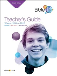 Bible-in-Life: Middle School Teacher's Guide, Winter 2019-20