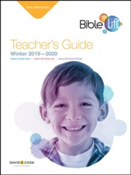 Bible-in-Life: Early Elementary Teacher's Guide, Winter 2019-20