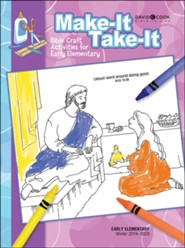 Bible-in-Life: Early Elementary Make It Take It (Craft Book), Winter 2019-20