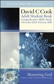 Bible-in-Life: Adult Student Book, Winter 2019-20
