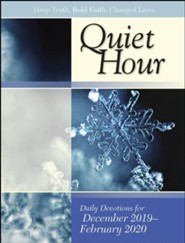 Bible-in-Life/Echoes: The Quiet Hour (Devotional Guide), Winter 2019-20
