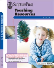 Scripture Press: 2s & 3s Teaching Resources, Winter 2018-19