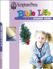 Scripture Press: 2s & 3s Bible Life Student Book, Winter 2018-19