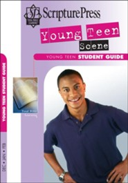 Scripture Press: Young Teen &#034Teen Scene&#034 Student Book, Winter 2018-19