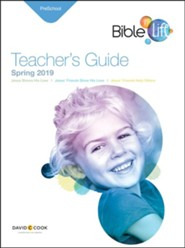 Bible-in-Life: Preschool Teacher's Guide, Spring 2019