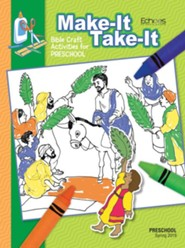 Echoes: Preschool Make It/Take It (Craft Book), Spring 2019