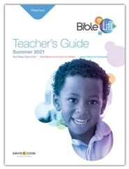 Bible-in-Life: Preschool Teacher's Guide, Summer 2021