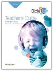 Bible-in-Life: Preschool Teacher's Guide, Summer 2020