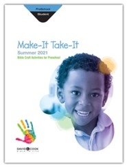 Bible-in-Life: Preschool Make It Take It (Craft Book), Summer 2021