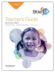 Bible-in-Life/Echoes: Toddler Teacher's Guide, Summer 2021