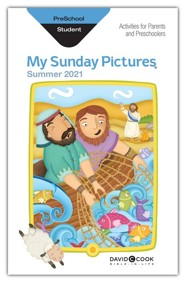 Bible-in-Life: Preschool Sunday Pictures, Summer 2021
