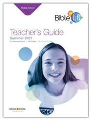 Bible-in-Life: Middle School Teacher's Guide, Summer 2021