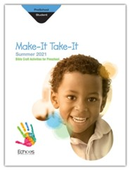 Echoes: Preschool Make It Take It (Craft Book), Summer 2021