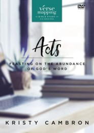 Verse Mapping Acts: Feasting on the Abundance of God's Word - eBook