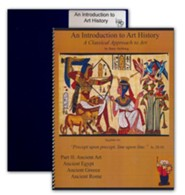 An Introduction to Art History: A Classical Approach to  Art Part 2: Ancient Art, Egypt, Greece & Rome with a binder