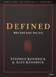 Defined, Teen Guys' Bible Study Book