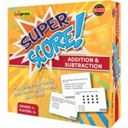 Super Score Game: Addition & Subraction, Grades 1-2
