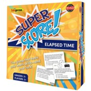 Super Score Game: Elapsed Time, Grades 3+