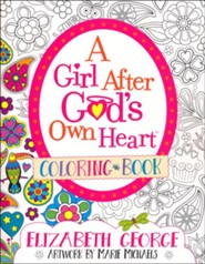 A Girl After God's Own Heart Coloring Book
