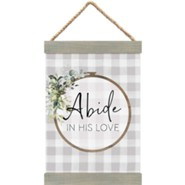 Abide In His Love Banner