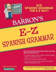 E-Z Spanish Grammar - eBook