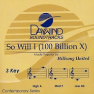 So Will I (100 Billion X),  Accompaniment Track