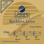Reckless Love, Accompaniment Track