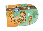Buzz: Preschool Amigos CD, Fall 2018