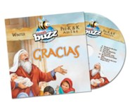 Buzz: Pre-K & K Gracias CD, Winter 2018-19