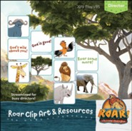 Roar: Clip Art & Resources CD