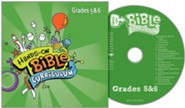 Hands-On Bible Curriculum Grades 5&6: CD Summer 2020