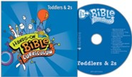 Hands-On Bible Curriculum Toddlers & 2s: CD Summer 2020