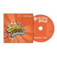 Hands-On Bible Curriculum: Grades 3 & 4 CD, Summer 2021
