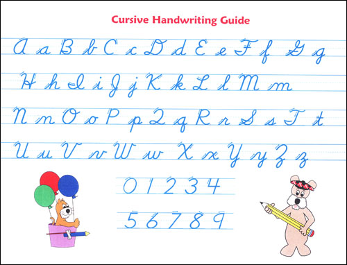 McRuffy Handwriting Cursive