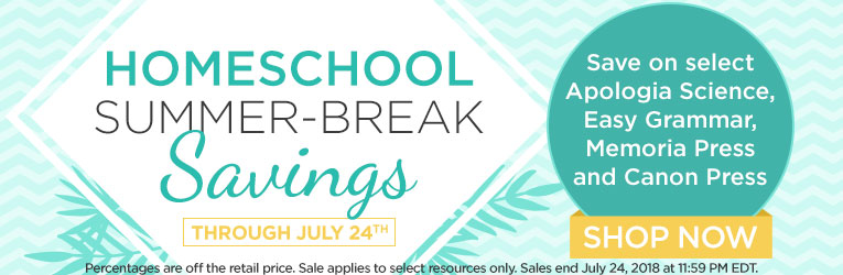 Summer Break Sale