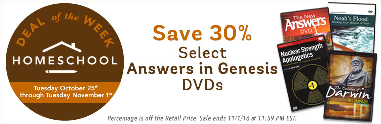Answers in Genesis DVD Sale