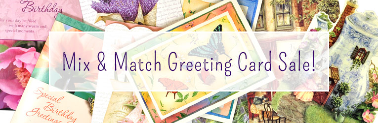 Mix & Match Card Sale