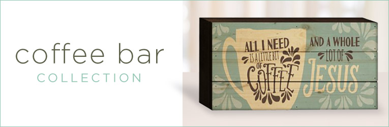 Personalized Decor Words Of Love Coffee Bar