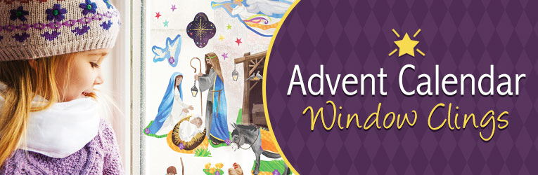 Advent Window Clings