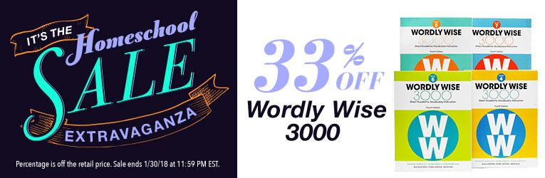 Wordly Wise 3000 Sale