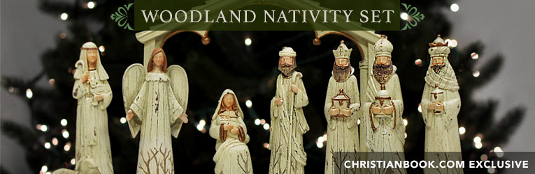 Woodland Nativity Set