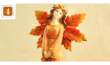 Fall Angel Figurine