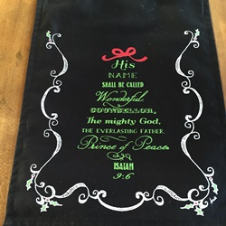 Prince of Peace Table Runner